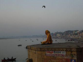 Sadus beim meditieren
