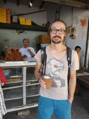 Jogurt am Straßenrand