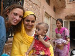 Besuch bei einer Familie in Jodhpur