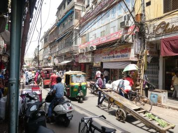 Street-Life in Delhi