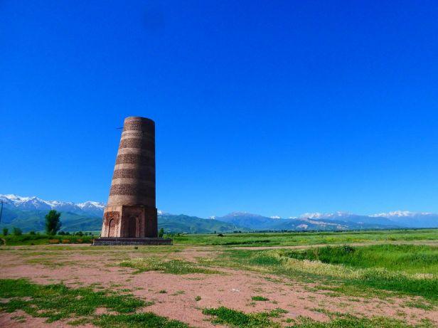 Burana Tower aus dem 9. Jhdt