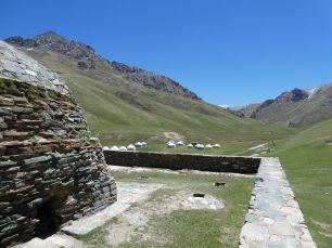 Tash Rabat Karawanserei im Süden von Kirgistan