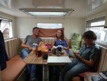 Bei Heidi und Norbert in ihrem Unimog