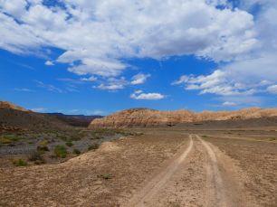 Fahrt zum sharyn Canyon