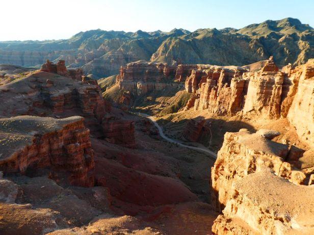 Sharyn Canyon von unserem Schlafplatz aus